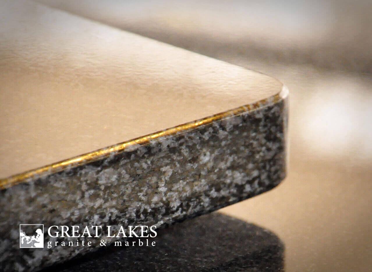 Flatpolish Edge Profile Great Lakes Granite Amp Marble